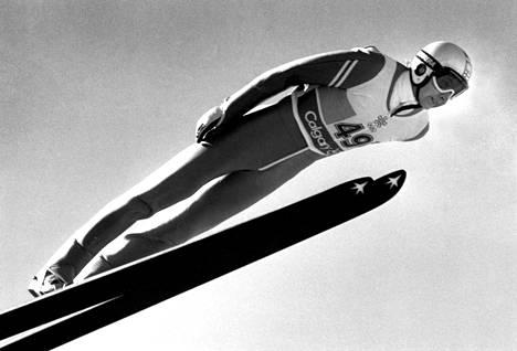 Matti Nykäsen uran huippuhetki oli vuonna 1988 Calgaryn olympialaissa, jossa hän voitti kolme olympiakultaa.