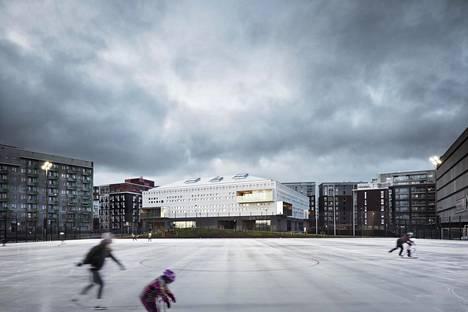 Jätkäsaaren koulua on käyty katsomassa ulkomaita myöten.  Se toi AOR-arkkitehdeille Dorfman-palkintoehdokkuuden.