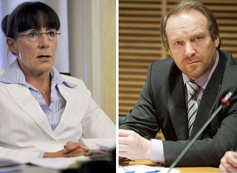 Pirkko Ruohonen-Lerner haluaa, että Teuvo Hakkarainen jätetään rauhaan.