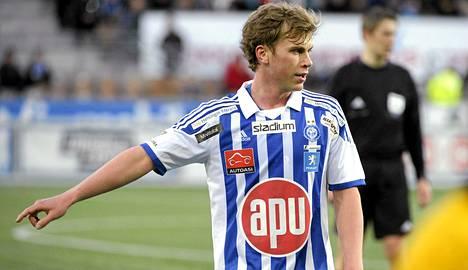 Rasmus Schüller pelaa nyt HJK:n paidassa.