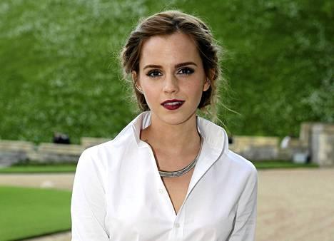 Näyttelijä Emma Watson on yksi eniten vaurastuneista.