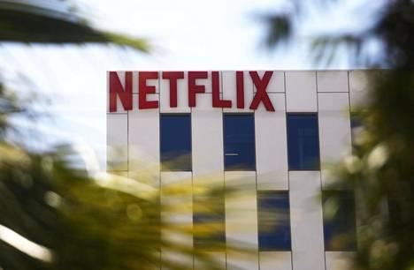 Netflixin konttori Sunset Boulevardilla Los Angelesissa toukokuussa 2019. Yhtiöllä on sen oman ilmoituksen mukaan lähes 150 miljoonaa tilaajaa.