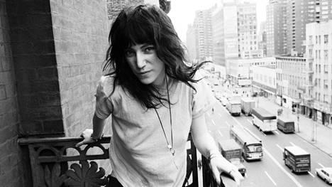 Muusikko ja kirjailija Patti Smith vuonna 1971.