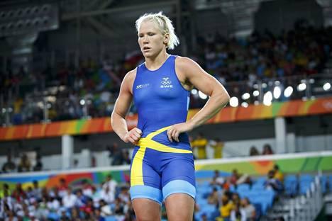 Jenny Fransson kuvattuna 17. elokuuta 2016 Rion olympialaisissa.