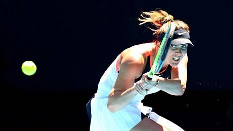 Elina Svitolina osallistui Australian avoimeen mestaruusturnaukseen helmikuun puolessavälissä.