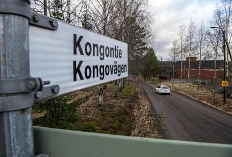 Liekö yksikään kongolainen koskaan astellut Kongontiellä Keimolassa?