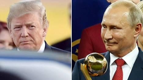 Vladimir Putin ja Donald Trump tapaavat Helsingissä maanantaina.