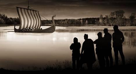 Viikinkien retkikunta tunkeutui tarinan mukaan syvälle Suomeen, mutta hämäläiset panivat rajusti vastaan.