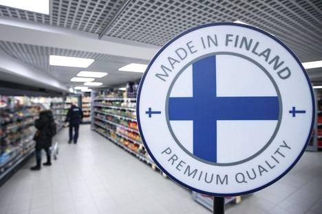 Myös Au Point Rougen Prismassa mainostetaan tuotteiden suomalaista alkuperää.