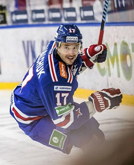 Ilja Kovaltšuk oli loistavassa vireessä.
