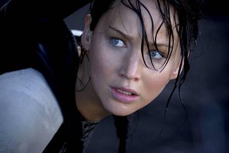 Jennifer Lawrence on Nälkäpeli-elokuvien Katniss Everdeen.