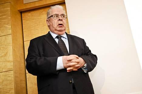 Kalervo Kummola on ollut Suomen jääkiekkoliiton puheenjohtaja vuodesta 1997.
