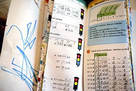 Osassa kotikouluperheistä oppikirjat tehdään itse. Kotiopetukseen ei saa kirjoja ilmaiseksi.