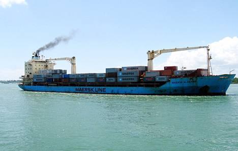 Maersk Alabama Mombasan satamassa Keniassa marraskuussa 2009.