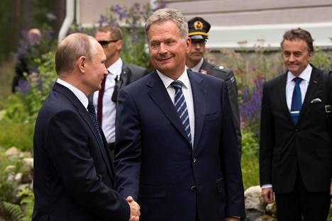 Sauli Niinistö ja Vladimir Putin tapasivat heinäkuussa Punkaharjulla.