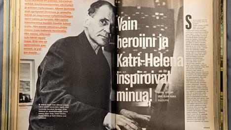 Otsikko julkaistiin Nyrkkiposti-lehden numerossa 1969.