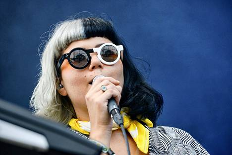 Vesta esiintyi Flow-festivaalilla elokuussa.