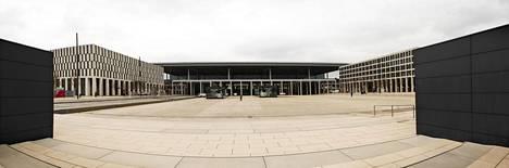 Suoralinjaista ja betonivaltaista Berliinin-Brandenburgin lentoasemaa on sanottu Bauhaus-vaikutteiseksi.
