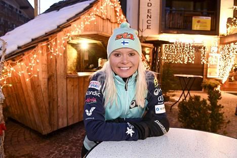 Ampumahiihtäjä Mari Eder luopui Salpausselän sprintistä.