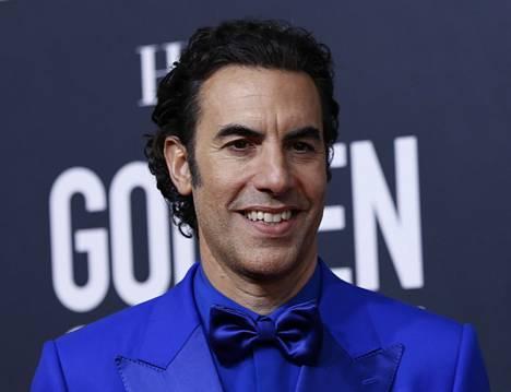 Koomikko Sacha Baron Cohen osallistui Golden Globe -gaalaan Beverly Hillsissä tammikuussa.