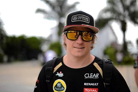 Kimi Räikkönen luottaa autoonsa.