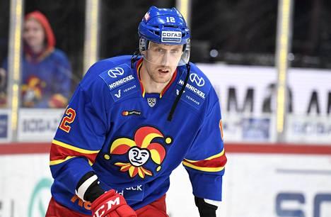 Marko Anttila teki kauden kahdeksannen maalinsa keskiviikkona. Kuva 1. lokakuuta pelatusta ottelusta HK Sotšia vastaan.