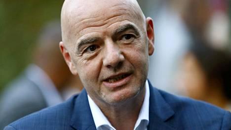 Fifan puheenjohtajalla Gianni Infantinolla on todettu koronavirustartunta