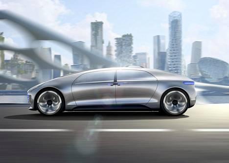 Mercedes-Benzin F015 -konseptiauto on yksi automalleista, jonka kyydissä voisi nukkua.