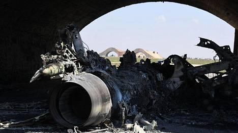 Kuvat Syyriassa tehdystä kaasuiskusta saivat presidentti Donald Trumpin määräämään ohjusiskun Syyrian hallituksen lentotukikohtaan. Venäjä tuomitsi Yhdysvaltain toimet.