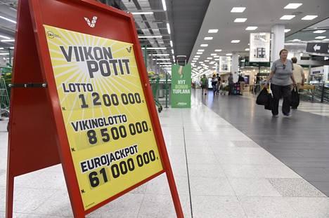 Sopimus koskee järjestelmää, jossa ovat muun muassa suomalaisten lottorivit.