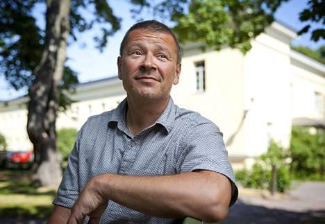 Professori Hannu Juusola Helsingissä 7. elokuuta 2014.