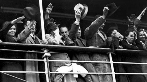 Ariadnen juutalaispakolaisia, joita ei päästetty Suomeen.