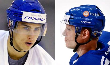 Valtteri Filppula ja Mikko Koivu