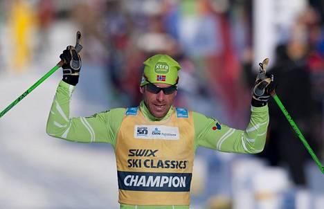 Anders Aukland osallistui vuonna 2013 ylipitkien hiihtomatkojen maailmancupin osakilpailuun Tšekissä.