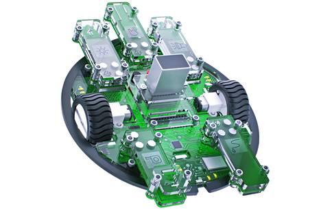 Robbo-yhtiön robotti.