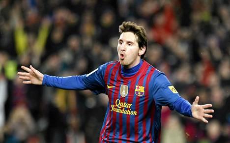 Lionel Messiltä käy maalinteko.