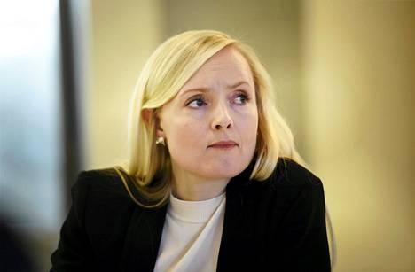 Vihreiden puheenjohtaja, sisäministeri Maria Ohisalo