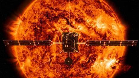 Solar Orbiter aloittaa mittaukset Auringon lähellä marraskuussa 2021.