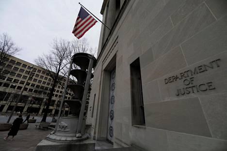Yhdysvaltain oikeusministeriön rakennus Washingtonissa.