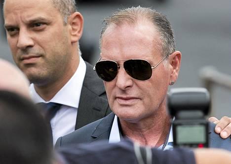 Paul Gascoigne on paininut alkoholiongelmien kanssa jalkapallouransa päättymisen jälkeen.