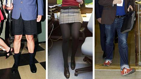 Moni kansanedustaja toivoo uudistetussa päärakennuksessa linjanmuutosta muun muassa edustajien pukeutumiseen. Esimerkiksi shortsit, minihameet ja lenkkitossut eivät linjanmuutoksen myötä olisi tervetulleita eduskunnan istuntoihin.