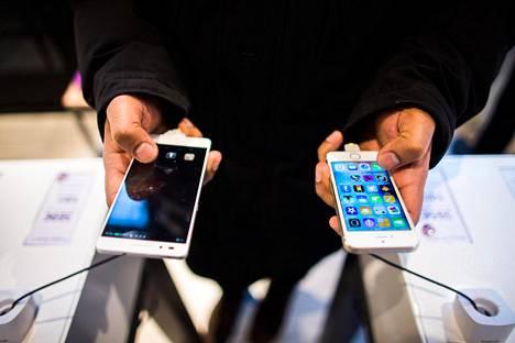 Puhelimen voi ostaa jopa kolmivuotisella maksuaikasopimuksella, ja laitteen hinta on sama kuin kerralla maksettuna.