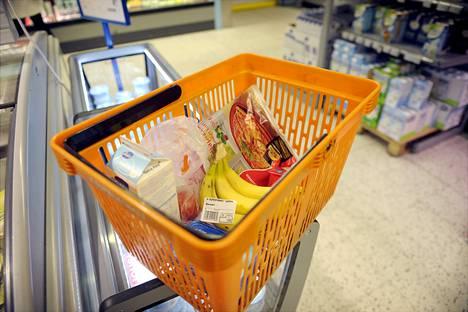 Suomessa inflaatio oli elintarvikkeiden kallistumisen takia nopeampaa kuin keskimäärin Euroalueella.