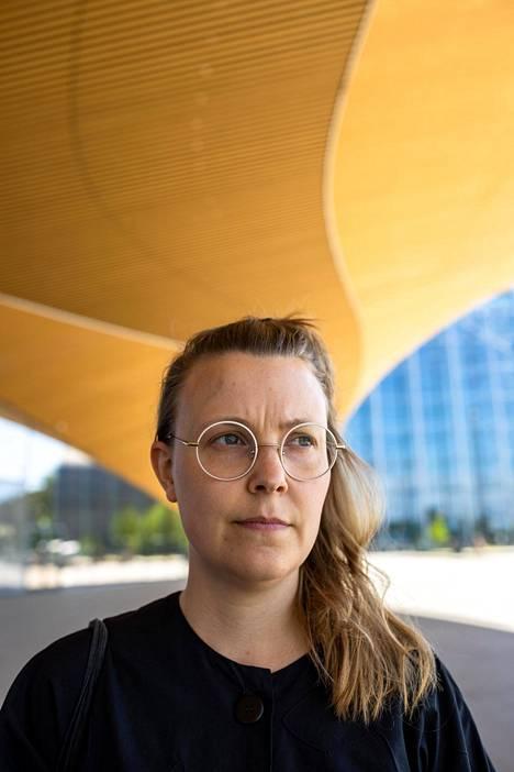 Finnwatch ry:n toiminnanjohtaja Sonja Finér.