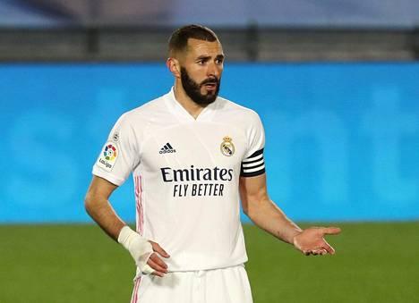 Karim Benzema on ollut osallisena yli 60 prosentissa Real Madridin maaleista.