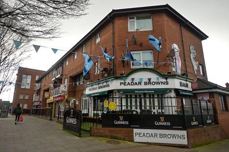 Peadar Brownsin baari Dublinin keskustassa oli suljettuna keskiviikkona.