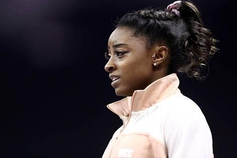 Simone Biles osallistui elokuun alkupuolella Kansas Cityssä järjestettyihin Yhdysvaltain voimistelumestaruuskisoihin.