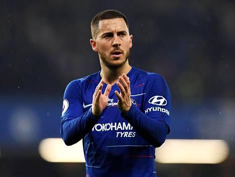 Eden Hazard ratkaisi maaleillaan voiton Chelsealle.