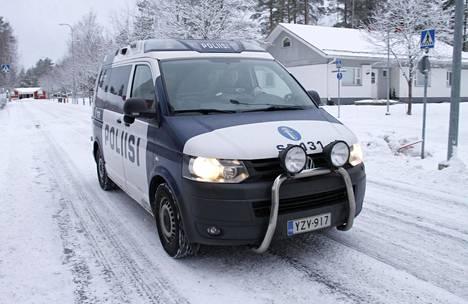 Kuljettaja pysäytettiin Espoon keskuksessa rutiininomaisessa tarkastuksessa.