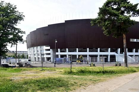 Helsinkin Olympiastadionin remontti on loppusuoralla.